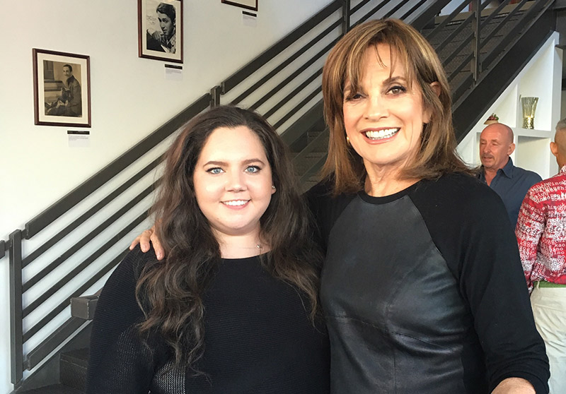 Danni Tamburro meets Linda Gray from Dallas